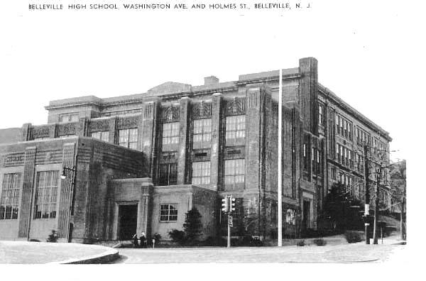 Belleville High School, Belleville, New Jersey .
